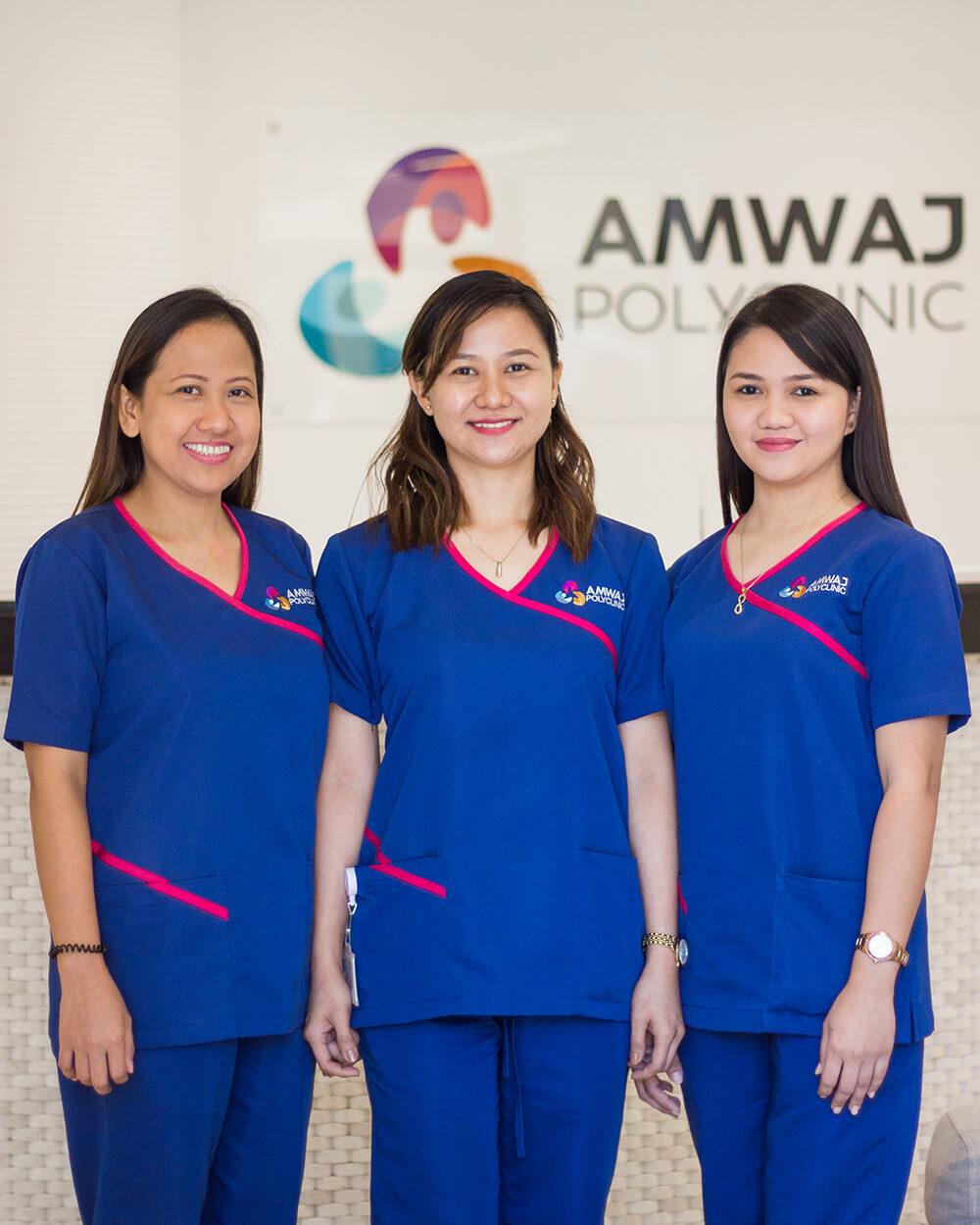 Laser therapy & nursing departments
