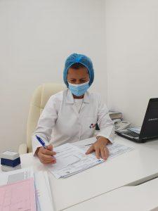 Doctor at Amwaj Polyclinic